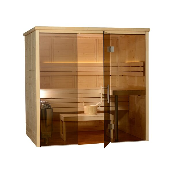 Worthington 6 Person Traditional Steam Sauna by Almost Heaven Saunas LLC