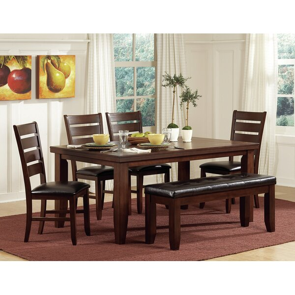 Leola Dining Table by Millwood Pines