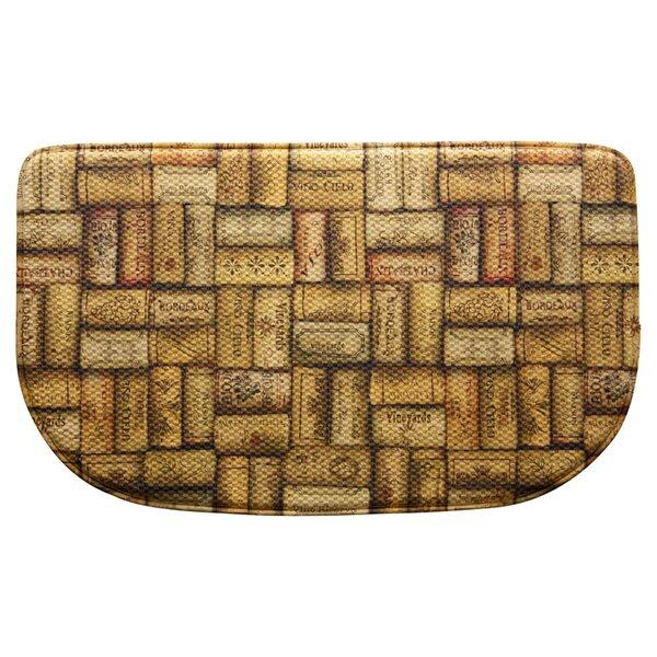 Wine Corks Doormat by Bacova Guild