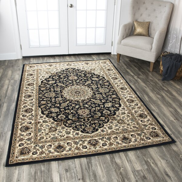 Blue/Beige Area Rug by The Conestoga Trading Co.