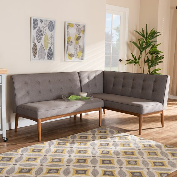 Bopp Upholstered 2-Piece Bench by Corrigan Studio