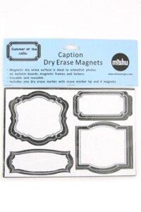 4 Piece Dry Erase Magnet Set by Mishu Designs