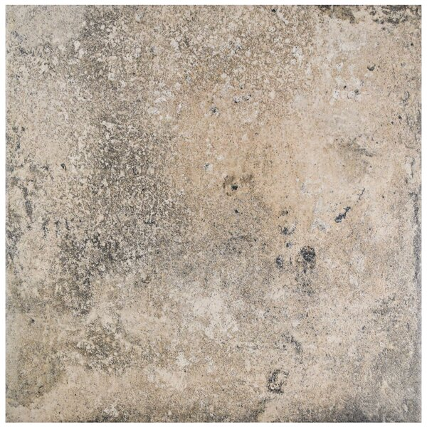 Ventillo 11.88 x 11.88 Porcelain Field Tile in Beige/Gray by EliteTile