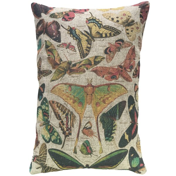 Erbe Linen Throw Pillow by August Grove