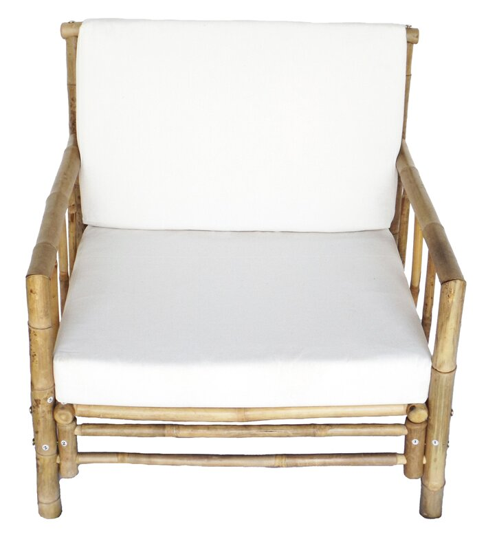 Attractive Maria Bamboo Arm Chair