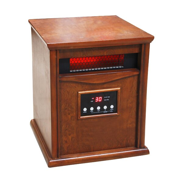 1 500 Watt Portable Electric Infrared Cabinet Heater By Dynamic Infrared.