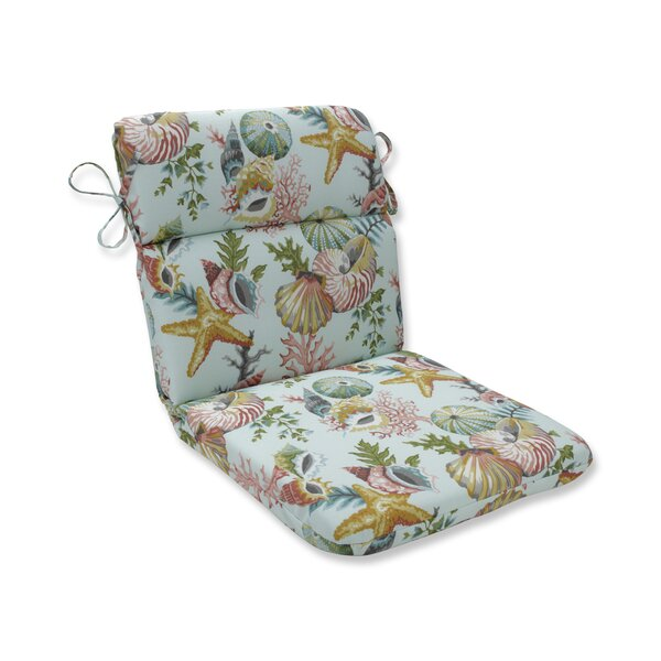 Seamist Indoor/Outdoor Dining Chair Cushion by Highland Dunes Highland Dunes