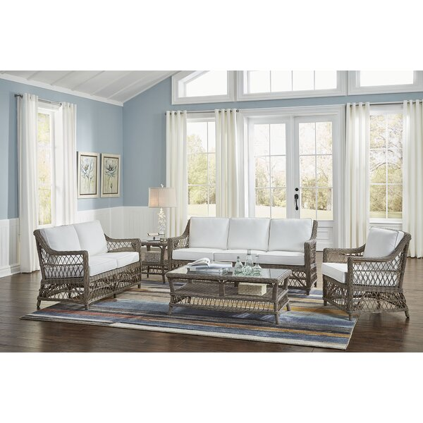 Seaside 5 Piece Conservatory Living Room Set by Panama Jack Sunroom Panama Jack Sunroom
