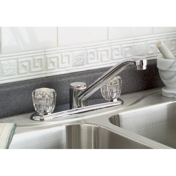 Bayview Double Handle Kitchen Faucet