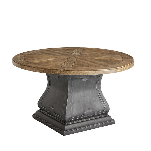 Astrid Outdoor Round Dining Table by Gracie Oaks