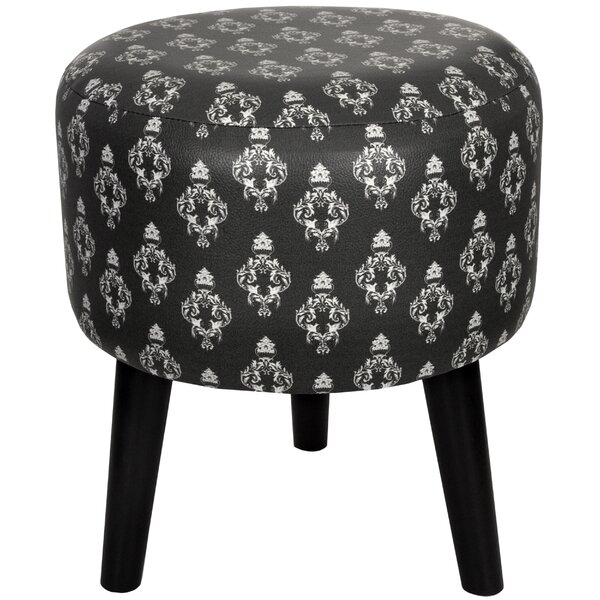Damask Stool by Oriental Furniture