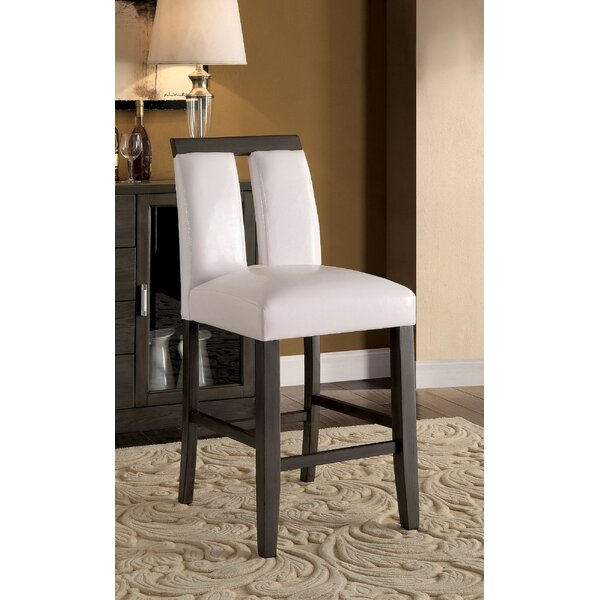 Walls Counter Height Upholstered Dining Chair (Set of 2) by Orren Ellis