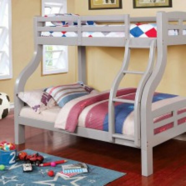 Newcastleton Twin over Full Bunk Bed by Harriet Bee
