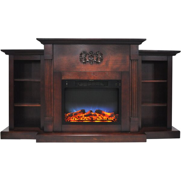 Dimmick Electric Fireplace by Alcott Hill