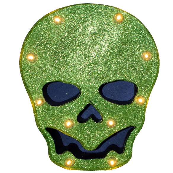 Glitter Skull Marquis by Penn Distributing