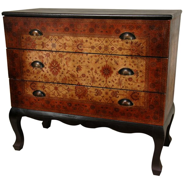 Clair Euro 3 Drawer Dresser by World Menagerie
