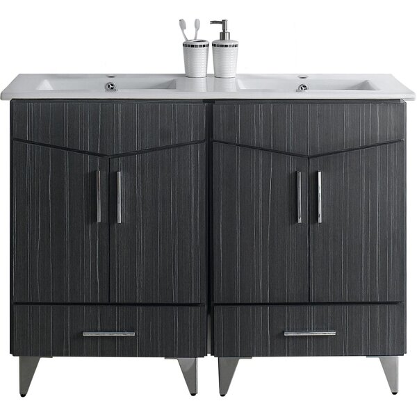 Kapp Floor Mount 48 Single Bathroom Vanity Set by Royal Purple Bath Kitchen