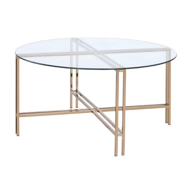 Natanael Cross Legs Coffee Table By Mercer41