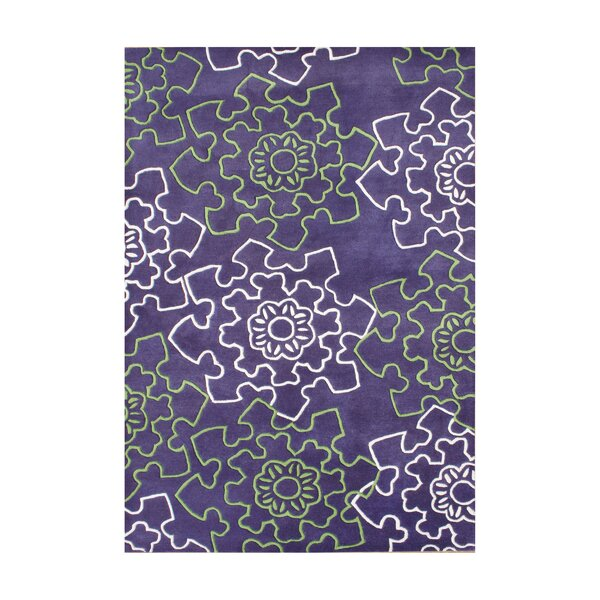 Rigby Hand-Tufted Purple Area Rug by The Conestoga Trading Co.