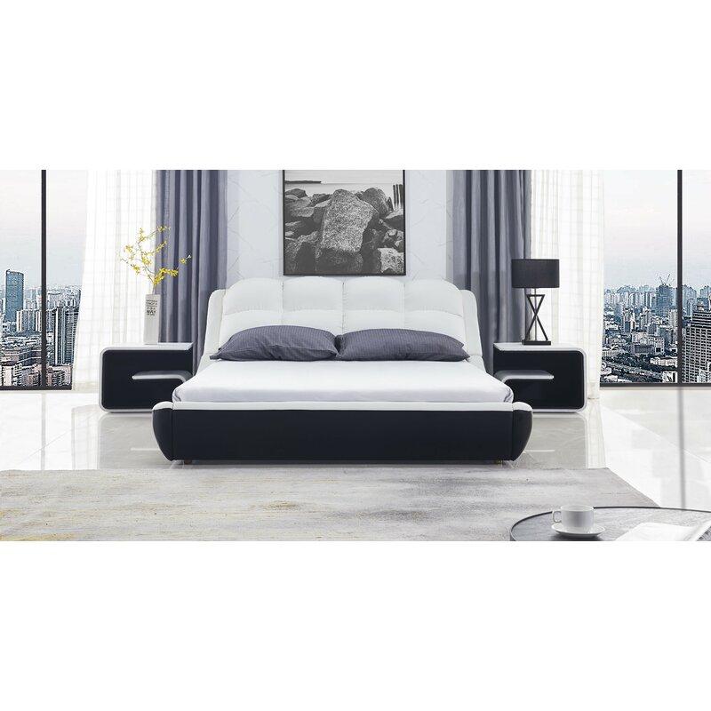 Orren Ellis Cornelie Queen Platform Configurable Bedroom Set