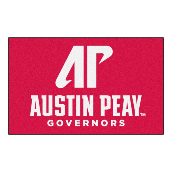 Collegiate NCAA Austin Peay State University Doormat by FANMATS