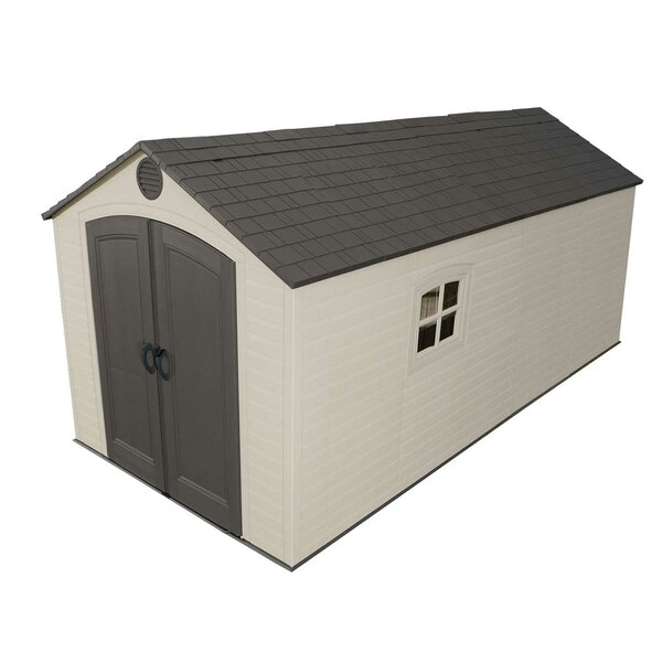 8 ft. W x 15 ft. D Plastic Storage Shed by Lifetime
