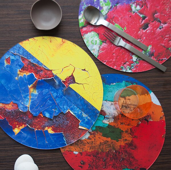 Miami Marine Stadium Placemat (Set of 4) by Victoria Lekach