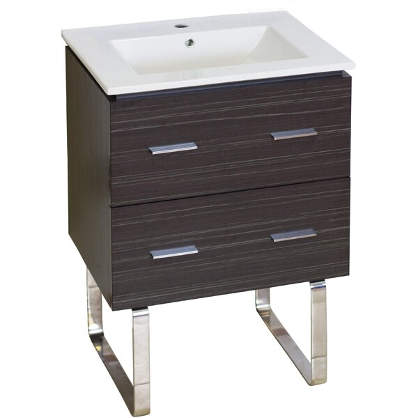 Maryalice Floor Mount 24 Single Bathroom Vanity Set by Royal Purple Bath Kitchen