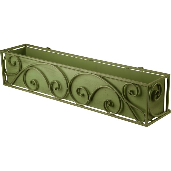 Steel Window Box Planter by National Tree Co.