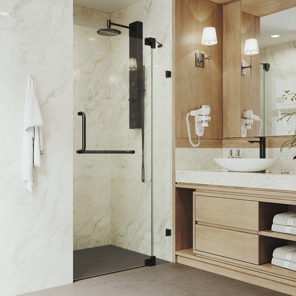 Pirouette 42'' x 74'' Adjustable Pivot Frameless Shower Door by VIGO