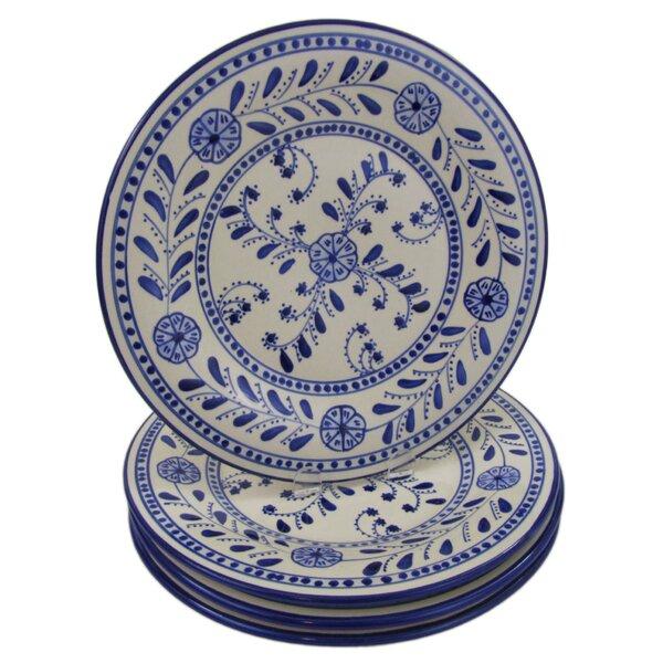 Azoura Stoneware 11 Dinner Plate (Set of 4) by Le Souk Ceramique