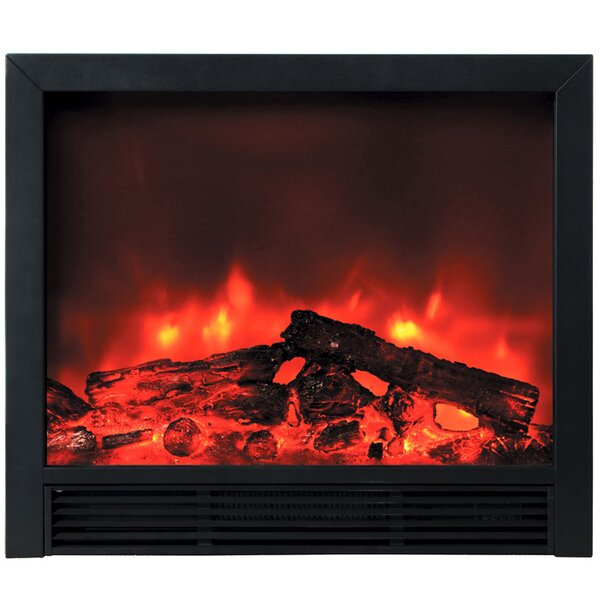 Deckard Blaze Remote Control Electric Fireplace Insert by Orren Ellis