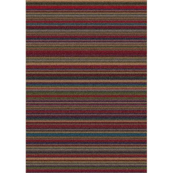 Modern Times Canyon Deep Olive Area Rug by Milliken
