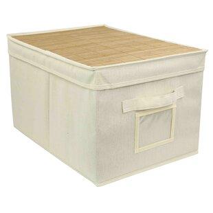 Buy clear Storage Fabric Box ByHome Basics