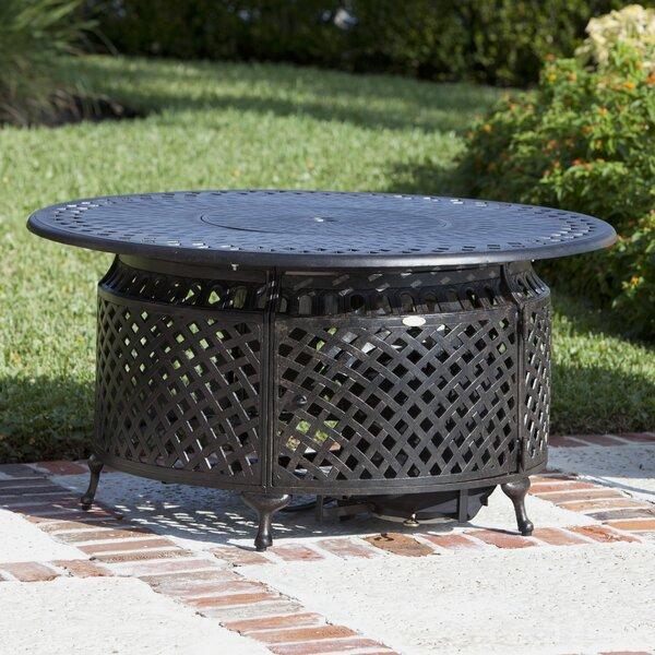Verna Aluminum Propane Fire Pit Table by Fire Sense