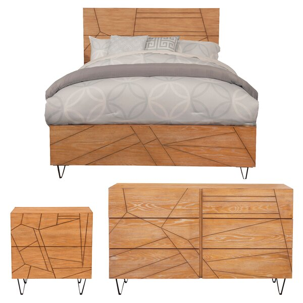 Benjamin Platform Configurable Bedroom Set by Langley Street
