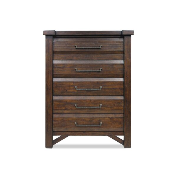 Bricelyn 5 Drawer Chest By Union Rustic by Union Rustic 2020 Online
