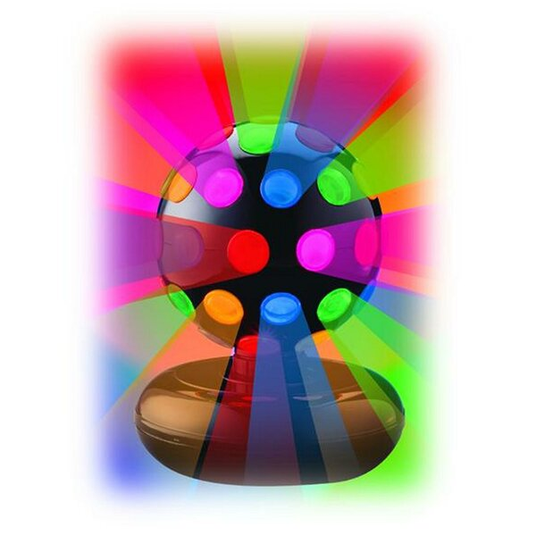 6 Inch Rotating Disco Ball Light by Zoomie Kids