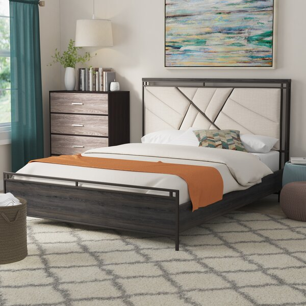 Welker Upholstered Standard Bed by Brayden Studio