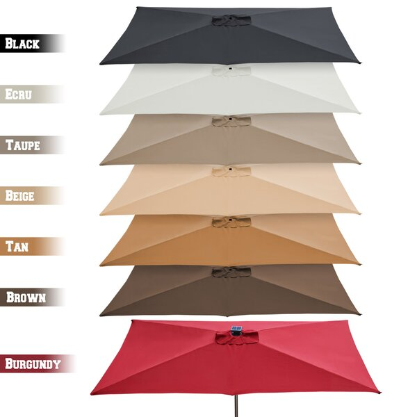 Top Cover Replacement 10 Ft. W x 6.5 Ft. D Umbrella Canopy by Sunrise Outdoor LTD