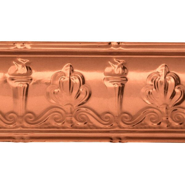 Superior 6.375 H x 48 W Crown Molding (Set of 5) by Great Lakes Tin