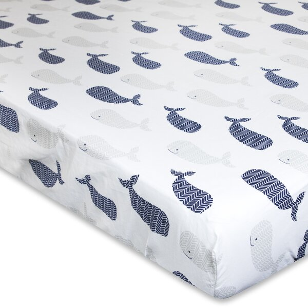 Landon Fitted Crib Sheet by Wendy Bellissimo