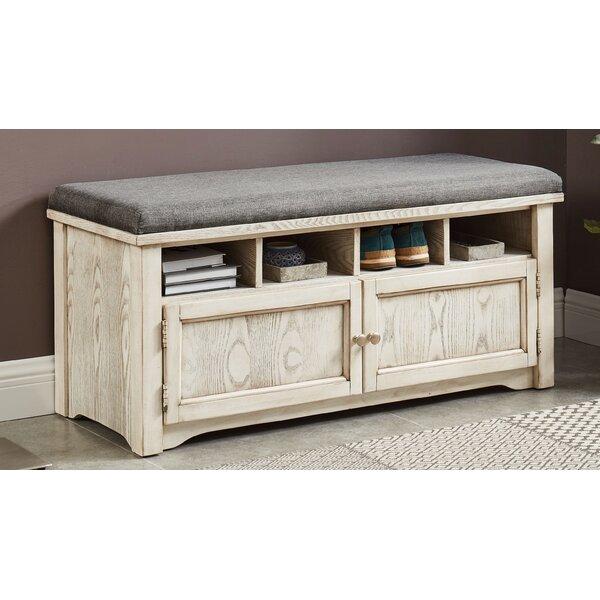 Rentschler Wood Storage Bench by Gracie Oaks Gracie Oaks