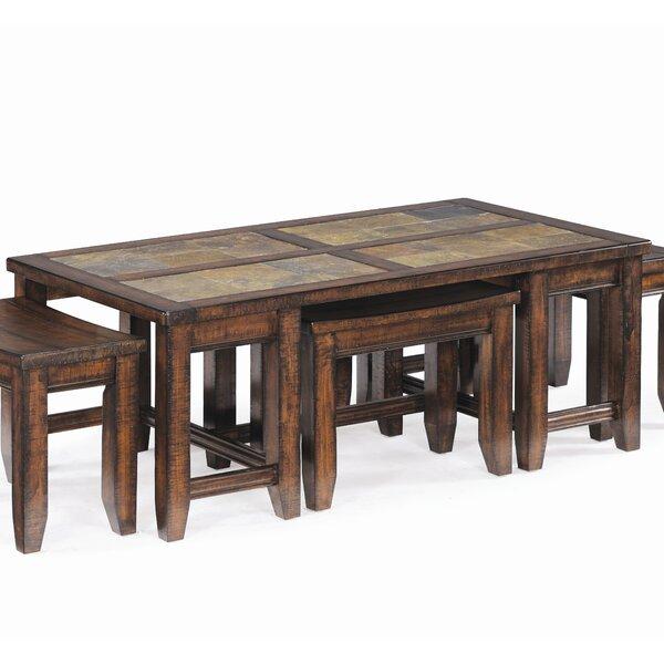 Fredia Coffee Table by Loon Peak Loon Peak