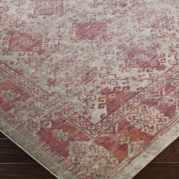 Anil Red Area Rug by Bungalow Rose