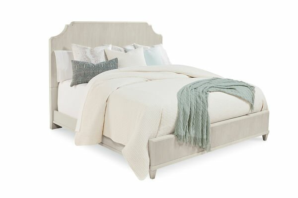 Carrie Panel Bed with Mattress by One Allium Way