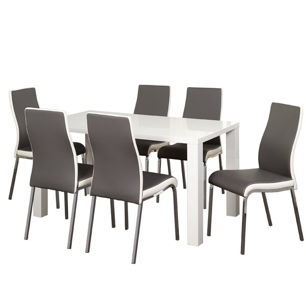 Matteoli 7 Piece Dining Set by Orren Ellis