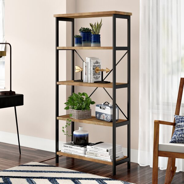 Parthenia Etagere Bookcase by Mercury Row