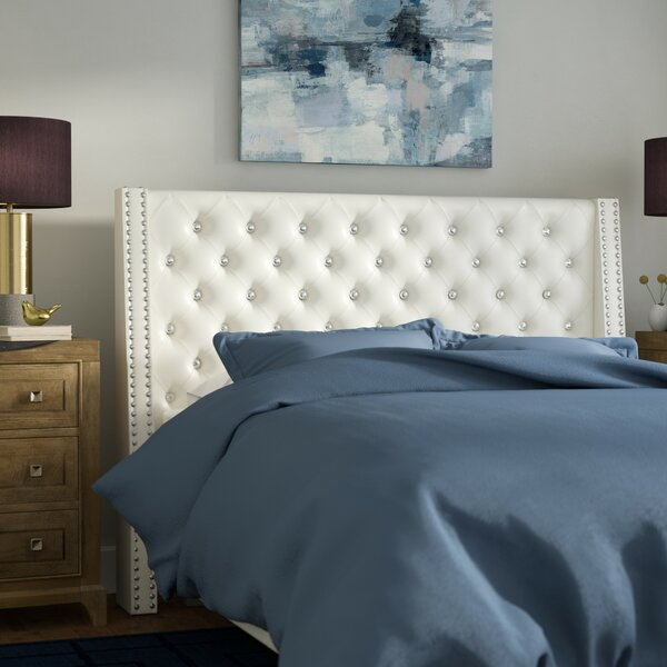 Ila Upholstered Wingback Headboard by Willa Arlo Interiors