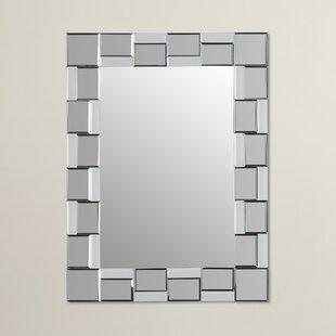 Wrought Studio Logan Modern Wall Mirror